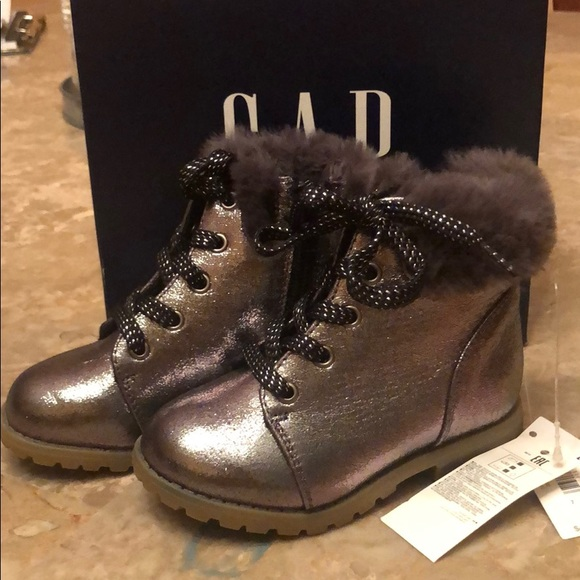 GAP Shoes | Baby Combat Boots Girl Size